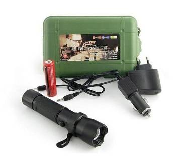 Brightest LED 800M Rechargeable Torch