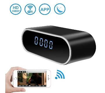 Wifi Table Clock Camera round