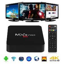 MxQ Pro 4K Android টিভি বক্স