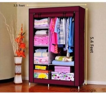 HCX ওয়ার্ডরোব Closet Storage Organizer Clothes Rack