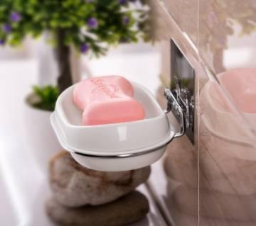 Soap Dish Plastic Adhesive সোপ হোল্ডার