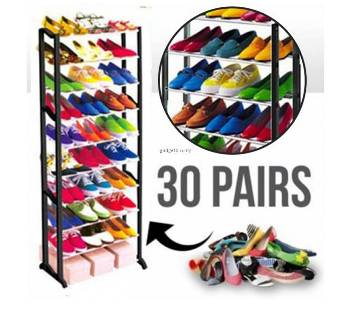 Amazing Shoes Rack upto 30 Shoe Pairs