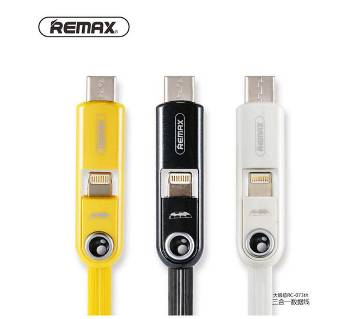 Remax Cutie 3 in 1 Data Cable