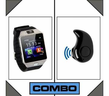 Smart Watch Combo Offer Free Blutooth Headphone