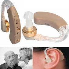 XINGMA XM-707T Voice Amplifier Behind Ear Mini Micro Hearing Aid & Batteries