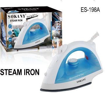 Sokany Steam Iron Model - ES-198A