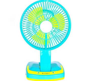 Rechargeable Folding Fan with Light