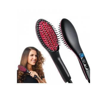 Simply Straight Ceramic Brush Hair Straightener