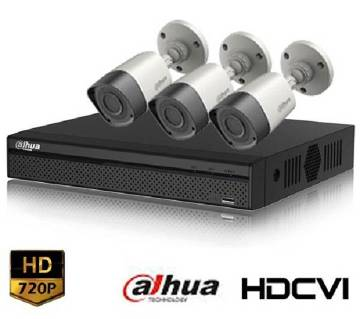 CCTV Package With 3 HD Camera