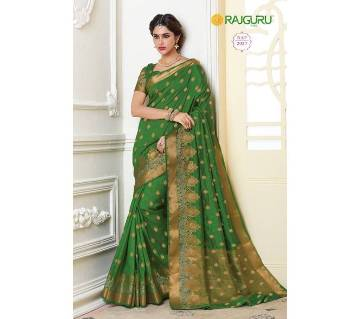 Rajguru Collection Tossor Silk Katan Saree