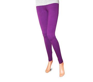 Ladies Leggings -Purple
