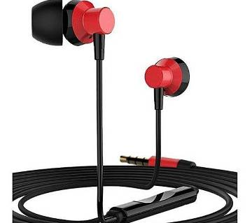 REMAX RM-512 In-Ear Earphone - Red and Black