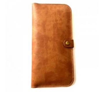 JLW FLIP WALLET PU LEATHER  COVER CASE for iPhone