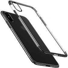 Baseus Clear Case for iPhone - Black