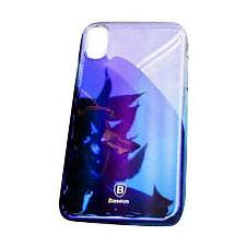 Baseus Clear Case for iPhone - Blue