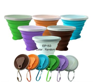 Silicone Folding Cup  270 ML