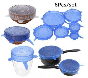 Silicon Pot Cover ( 6 Pis Set )