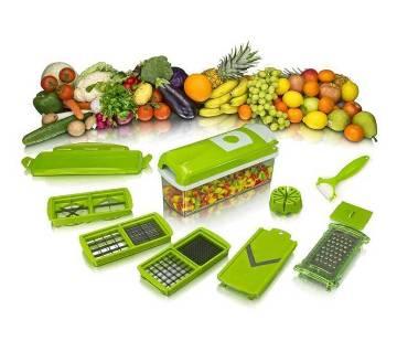 Multi-functional fruit and vegetable slicer