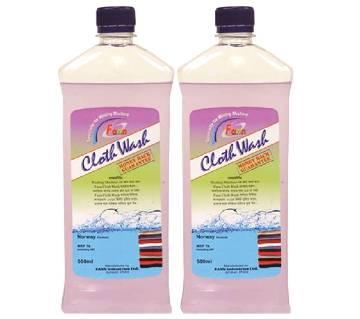 Combo of Fann Cloth Wash liquid - 500ml