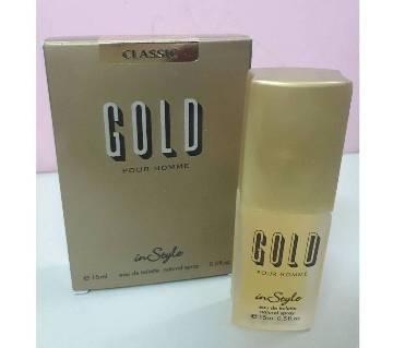 In Style পকেট পারফিউম-Gold (India) ফর মেন