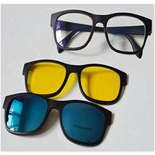 3 in 1 Magic Vision Magnetic Glasses