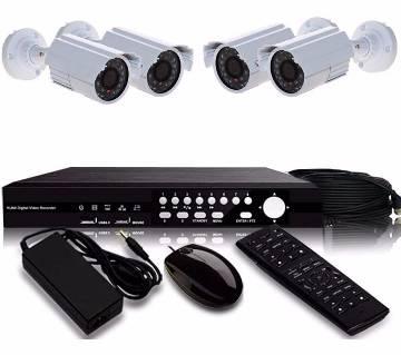 CCTV 4 ক্যামেরা প্যাকেজ- CPKG-1