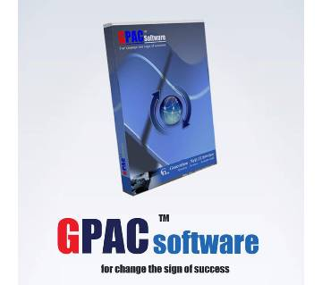 GPAC Accounting Inventory Software - 1 User