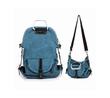 Multifunction Canvas Backpack