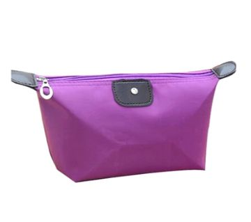 Compact Jewellery Bag- Purple