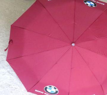 BMW Auto Lock Umbrella- Maroon