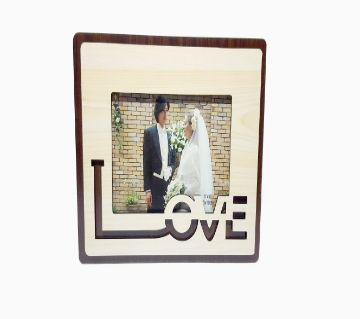 Double Layer Love Photo Frame