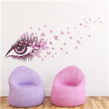 Butterfly in the Sky Wall Sticker
