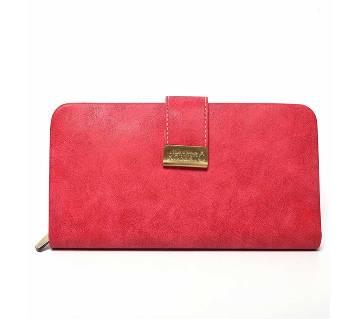 Vintage Wallet - Pink (L)