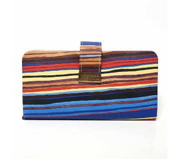 Rainbow Purse - Blue
