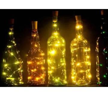 Cork String Fairy Light With Bottle