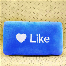 FB Like Travel Pillow