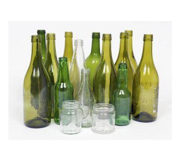 Empty Glass Bottle-1PCS