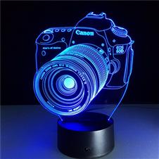 7 Color Changing 3D LED Desk Lamp