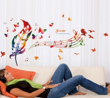 Retro Wall Sticker- Song Of The Birds