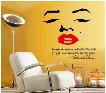 Retro Wall Sticker- Marilyn Monroe