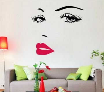 Retro Wall Sticker- She Is Beautiful