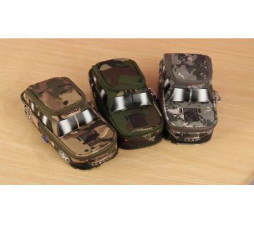 Army SUV Pencil Case