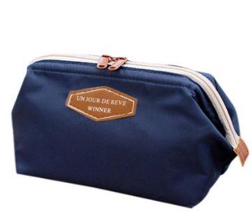 Cosmetic Bag- Dark Blue