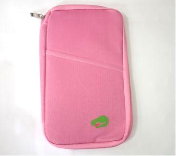 Passport Holder- Pink