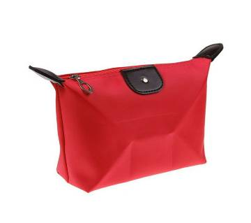 Compact Jewellery Bag- Red