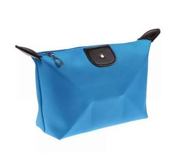 Compact Jewellery Bag- Sky Blue