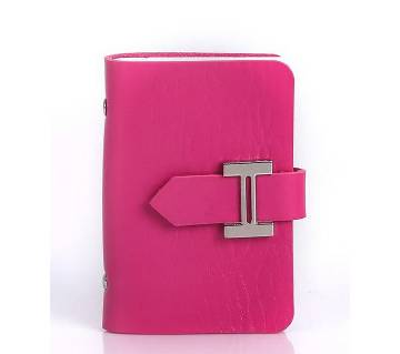 Exclusive PU Card Holder- Pink