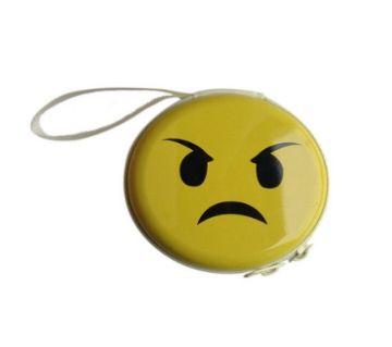 Emoji Earphone Box- Angry