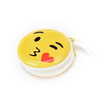 Emoji Earphone Box- Kiss