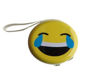 Emoji Earphone Box- Tear smile
